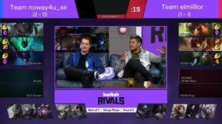 Twitch Rivals: League of Legends Team Draft Showdown [EMEA]