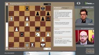 Magnus, Giri, Nepo - FIDE World Corporate Championship w/ hosts Hess and Copeland | !corpdonate