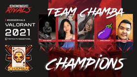 Highlight: TEAM CHAMBA IS YOUR FIRST DODGE RIVALS GRAND CHAMPION!!!!!!!!