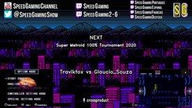 Traviktox vs Glaucio_Souza. Super Metroid 100% Tournament 2020.