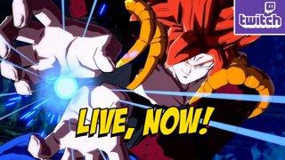 KOF TRAILER - DBFZ - Gogeta SSJ4 Online/Training (3-10) !ads !nzxt (3-10)