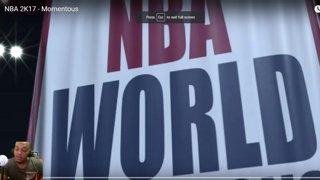 NBA 2K17 MOMENTOUS TRAILER