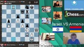 Highlight: Israel Counsellors at Pro Chess League- Israel VS Armenia