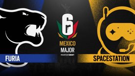 FURIA vs. Spacestation // Six Major Mexico - group stage - day 1