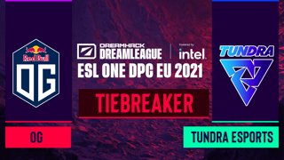 Dota2 - OG vs. Tundra Esports - Game 1 - DreamLeague Season 14 DPC: EU - Tiebreaker - Round 1
