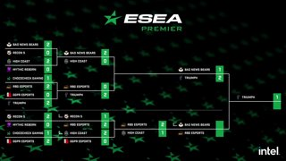 LIVE: ESEA Premier - Lower Bracket Final - Bad News Bears vs. RBG Esports - NA