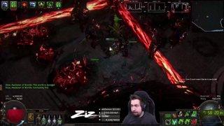 Zizaran - Path of Exile - Ritual League - Blade blast Blade Fall Assassin RiP
