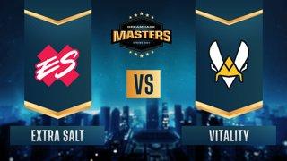 CS:GO - Extra Salt vs. Vitality [Nuke] Map 3 - DreamHack Masters Spring 2021- Group B