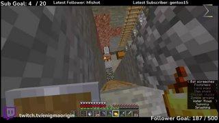 Highlight: Minecraft Hardcore! Chicken Death!