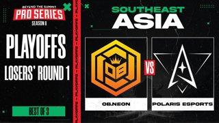OB.Neon vs Polaris Game 1 - BTS Pro Series 8 SEA: Playoffs w/ Ares & Danog