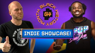 Celebrating Black History Month w/WWE Superstar Xavier Woods AKA Austin Creed, Adam Sessler, and friends!