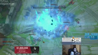 Imaqtpie jinx initiation into PENTAKILL