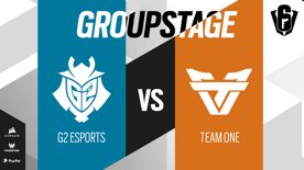 G2 Esports VS Team oNe // SIX INVITATIONAL 2021 – Group stage – Day 1