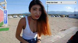 ダイジェスト:JP/EN🧡Japan! Beach Day! let's get tan n Chat\(^o^)/🧡