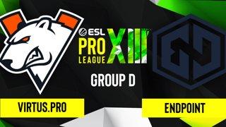 CS:GO - Virtus.pro vs. Endpoint [Inferno] Map 1 - ESL Pro League Season 13 - Group D