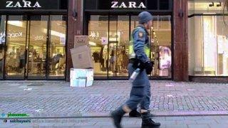 Box Man Scare Prank New City Exploring Uppsala 25/02/2021
