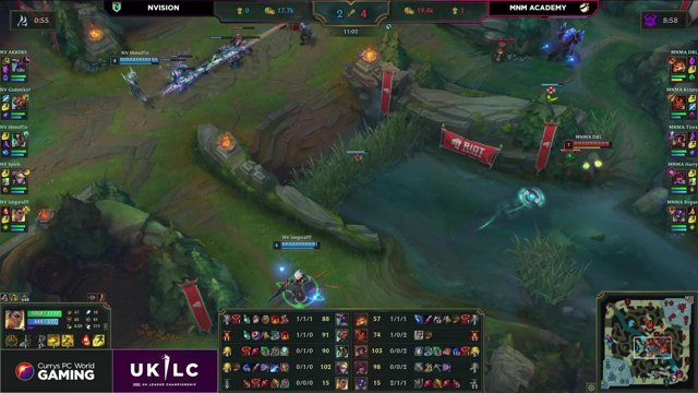 NVision vs MnM-UKLC 2021 Spring Week6