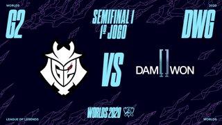 Mundial 2020: Semifinal 1 | G2 Esports x DAMWON Gaming (1º Jogo)