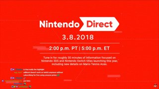 Nintendo Direct March 8th 2018 Reaction - ConnorEatsPants