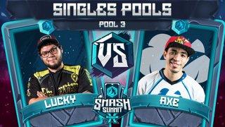 Lucky vs Axe - Singles Pools: Pool 3 - Smash Summit 10 | Fox vs Pikachu