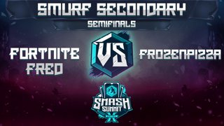 Fortnite Fred vs FrozenPizza - Smurf Secondary: Semis - Smash Summit 10 | Young Link vs Ice Climbers