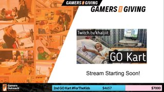 Gamers For Giving Charity Stream! ❤️ !Charity !Donate