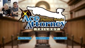 [Part 1] Phoenix Wright: Ace Attorney (ft. actual lawyer OBB)