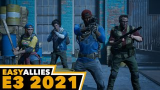 Back 4 Blood - Easy Allies Reactions -  E3 2021 (Day 2, Pt. 3)