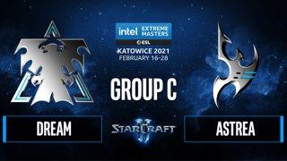 SC2 - Dream vs. Astrea - IEM Katowice 2021 - Group C