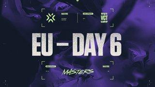 VCT Regional Masters EU - Semifinals