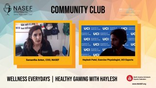 Highlight: #WellnessEverdays with Haylesh Patel | NASEF Community Club | !btg