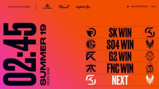 Week 9 Day 2 | LEC Summer Split (2019):