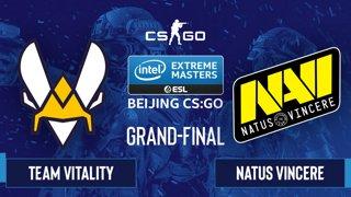 CS:GO - Natus Vincere vs. Team Vitality [Dust2] Map 2 - IEM Beijing 2020 Online - Grand-Final - EU