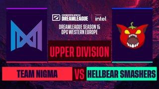 Dota2 - Team Nigma vs. Hellbear Smashers - Game 1 - DreamLeague S15 DPC WEU - Upper Division