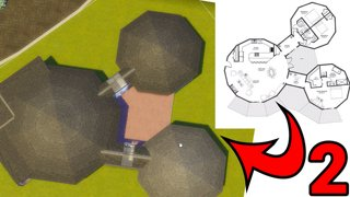 Weird Floor Plan Build in Sims - Part 2