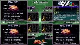 Week 1, Tales of the Dredded Metroid (Derxu, Traviktox) vs HylianSpaceJumpFrogs (crossproduct, TracieM). Super Metroid Rando League Season 3