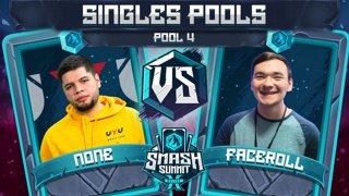 n0ne vs Faceroll - Singles Pools: Pool 4 - Smash Summit 10 | Captain Falcon vs Sheik
