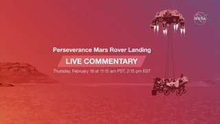 Watch the Perseverance Mars Rover Landing