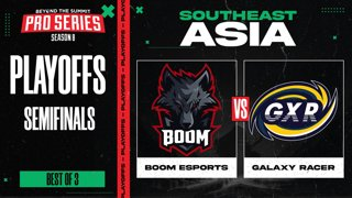 BOOM vs Galaxy Racer Game 2 - BTS Pro Series 8 SEA: Playoffs w/ Ares & Danog