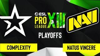 CS:GO - Complexity vs. Natus Vincere [Dust2] Map 1 - ESL Pro League Season 13 - Playoffs