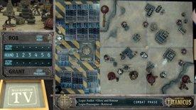 Adeptus Titanicus - Shadow and Iron, and Legio Audax vs Legio Praesagius Battle Report