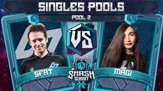 SFAT vs Magi - Singles Pools: Pool 2 - Smash Summit 10 | Fox vs Falco