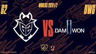 WORLDS 1/2 de finale - G2 vs DWG - Bo5