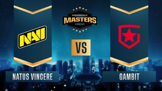 CS:GO - Gambit vs. Natus Vincere [Overpass] Map 2 - DreamHack Masters Spring 2021 - Group A