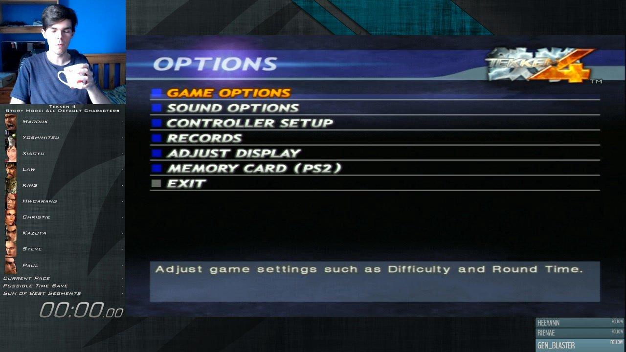 Story Mode All Default Characters 1 Round In 36m 35s By Shirdel Tekken 4 Speedrun Com