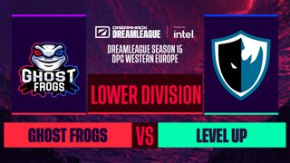 Dota2 - Ghost Frogs vs. Level UP - Game 2 - DreamLeague S15 DPC WEU - Lower Division