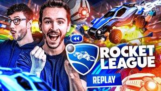 Duo avec Ponce sur Rocket League !