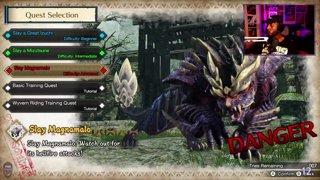 Monster Hunter Rise Demo | Magnamalo LS Clear