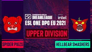 Dota2 - Hellbear Smashers vs. Spider Pigzs - Game 2 - DreamLeague Season 14 DPC: EU - Lower Division