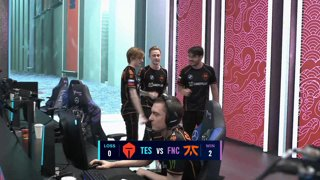 TES vs. FNC | Quarterfinals | 2020 World Championship | Top Esports vs. Fnatic